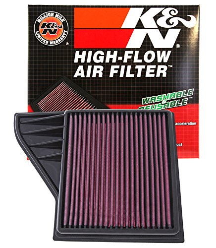 K&N 33-2431 High Performance Replacement Air Filter
