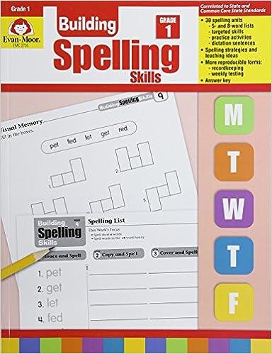 Amazon.com: Building Spelling Skills: Grade 1 (9781557998392 ...