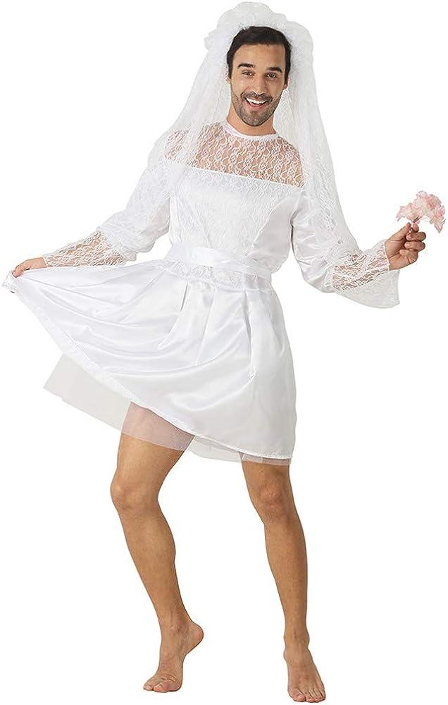 Halloween White Wedding Veil Bride to Be Hen Night Party Fancy Dress Costume