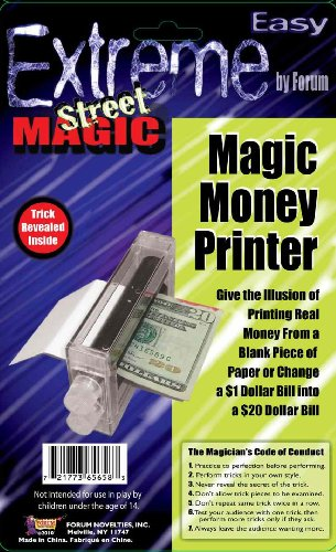 Forum Novelties Extreme Street Magic - Magic Money Printer (Put Together Your Own Halloween Costume)