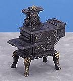 1 12 scale stove - Dollhouse Miniature 1:12 Scale Black Wood Stove #T5931