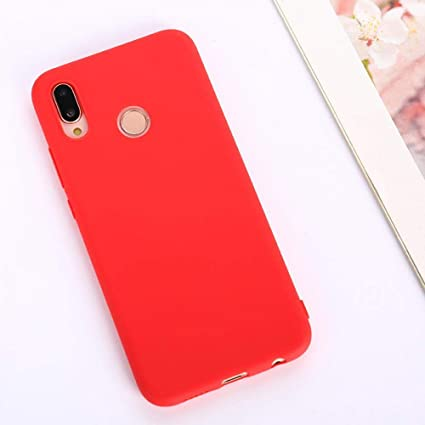 Amazon.com: Luxury Silicone Case for Huawei P9 P8 Lite 2019 ...