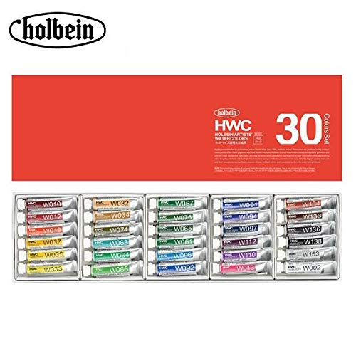 ホルベイン 透明水彩絵具 5ml W407 30色セット 3407   B07PZ2KWL3