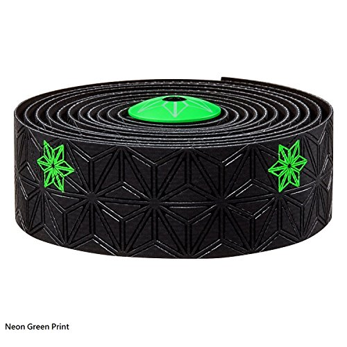 30 Mm Neon Green (Supacaz Super Sticky Kush Galaxy Bar Tape (Neon Green Print))