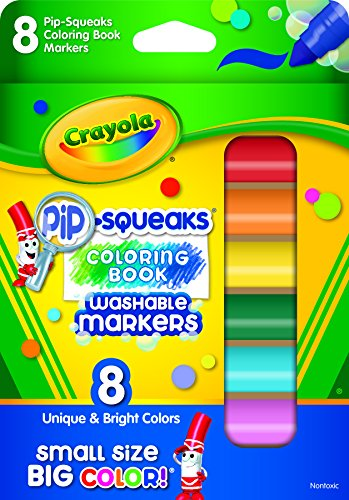 Crayola Pip-Squeaks Washable Markers -