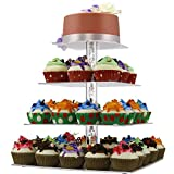 best seller today DYCacrlic Cake Stand,2018 New Style 4...