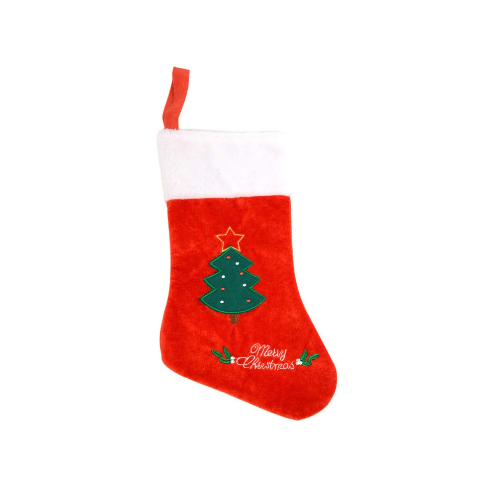 Christmas Stockings Full Size Tree Design