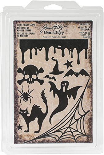 Tim Holtz TH93617 Idea-Ology Halloween Foam Stamps
