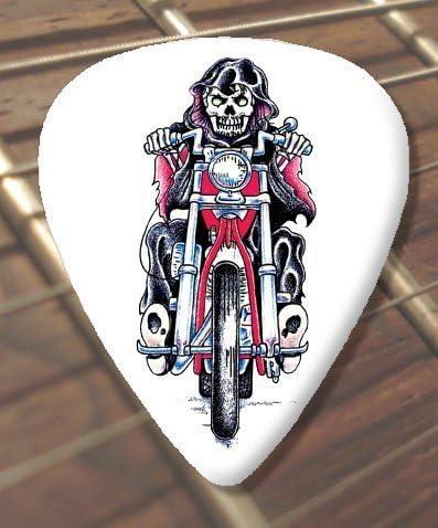 10 x Tattoo diseño de fantasmas Rider Púas para guitarra ...