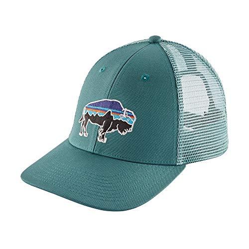 Patagonia Mens Fitz Roy Bison Trucker Hat (Tasmanian Teal)