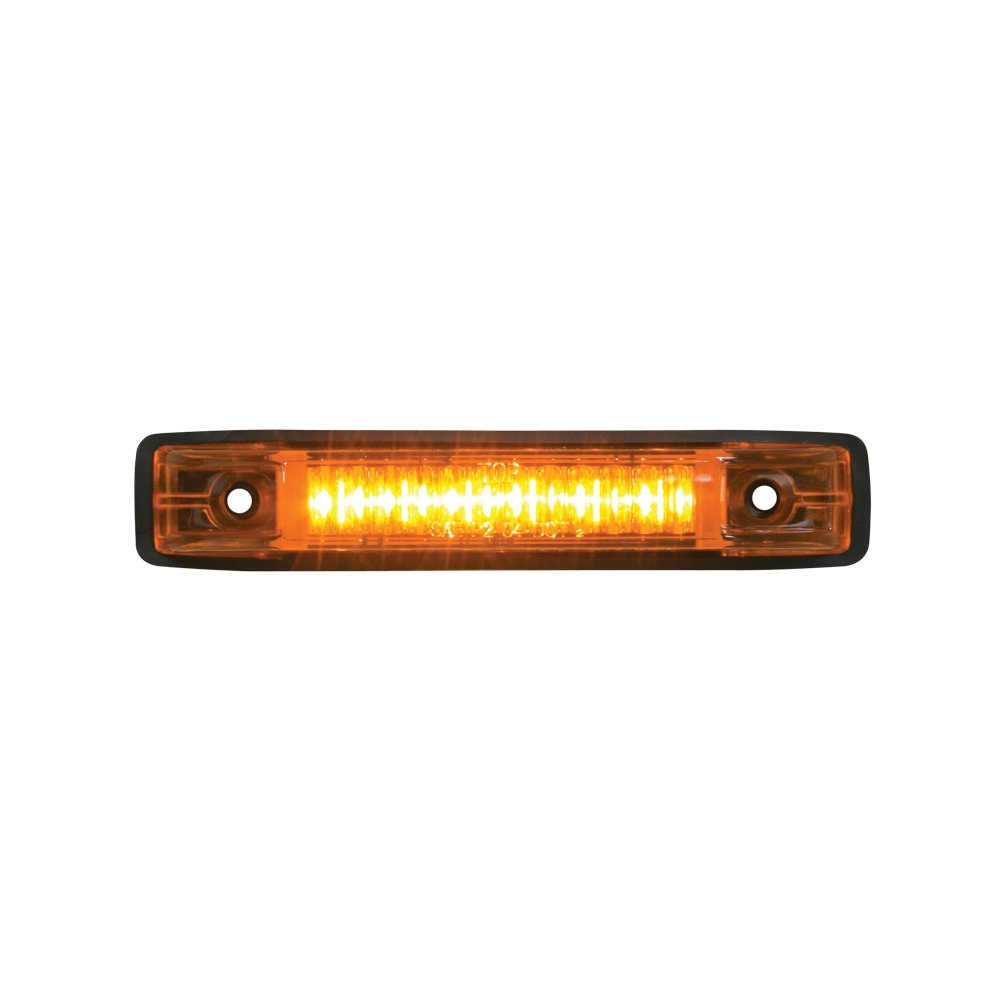 Grand General 77650 Amber Thin Line 6-LED Marker and Clearance Sealed Light