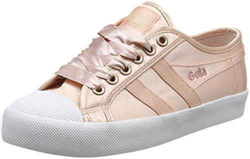 Gola Women's Coaster Satin Blush Pink/White Trainers Pink (Blush Pink/White Kw) ruryUsqi