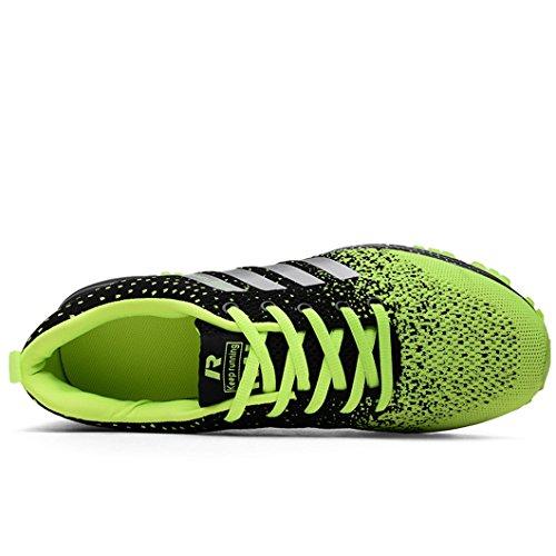 Corsa Ginnastica Bravover Running Fitness Sneakers Basse Uomo da Scarpe Verde Corsa Sportive Sneakers da Scarpe Sportive rrqwEYp