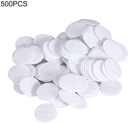 Los filtros de algodón, algodón 500pcs filtro redondo de filtrado similares for la espinilla La eliminación belleza máquina 15mm: Amazon.es: Belleza