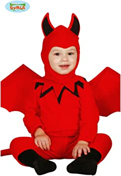 Amakando Disfraz Infantil Demonio - 6 - 12 Meses, 82 - 83 cm ...