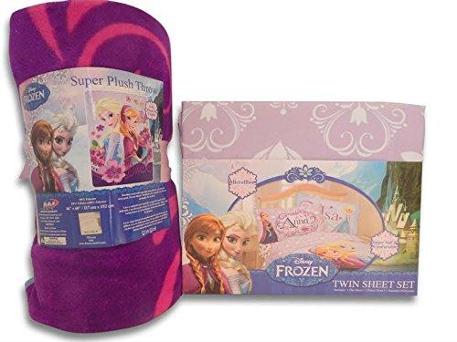 Frozen Celebrate Love Sheet Set Twin Size and Super Soft