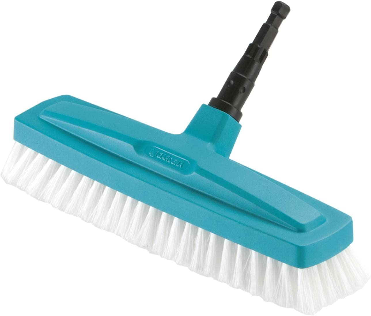 Gardena Outlet SALE Combisystem Overseas parallel import regular item Scrubbing Brush 30 White Black 35x cm Blue