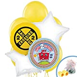 2nd Birthday Train Party Supplies - Balloon Bouquet