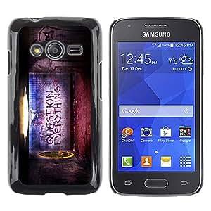 Caucho caso de Shell duro de la cubierta de accesorios de protección BY RAYDREAMMM - Samsung Galaxy Ace 4 G313 SM-G313F - Question Everything