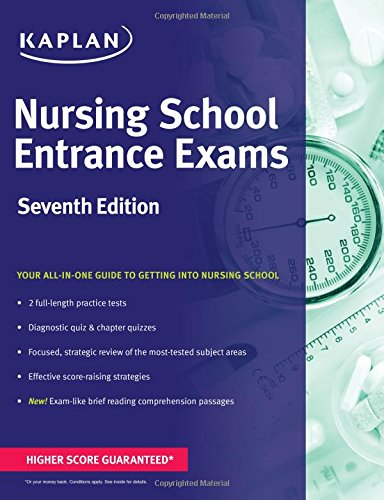 Nursing School Entrance Exams (Kaplan Test Prep)