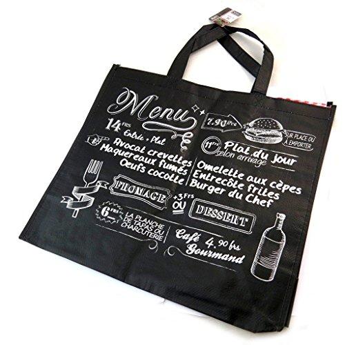Shopping bag Bistrotnero - 45x40x20 cm.