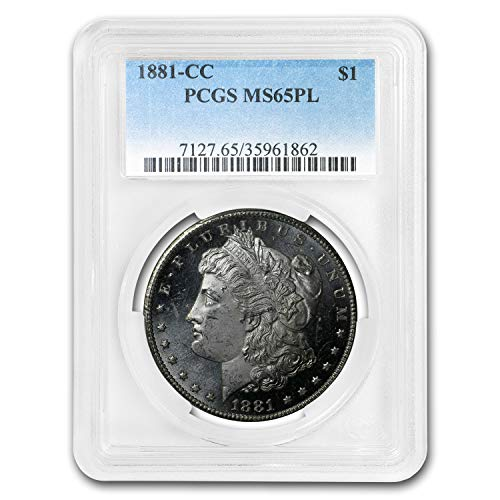 1881 CC Morgan Dollar MS-65 PCGS (PL) $1 MS-65 PCGS
