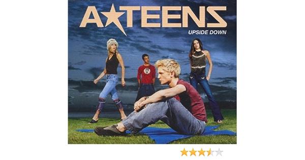 Teens upside down