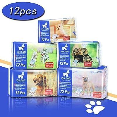 Pet Soft Pet Disposable Puppy Dog Diaper