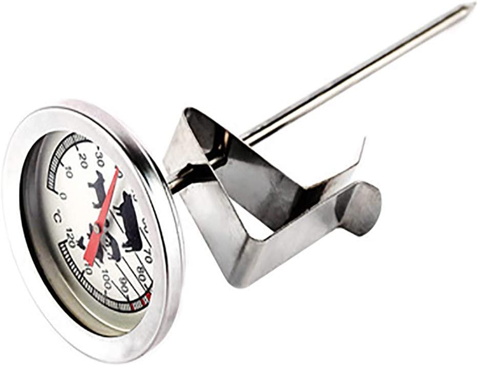 Naladoo Food Meat Temperature Stand Up Dial Oven Thermometer Stainless Steel Gauge