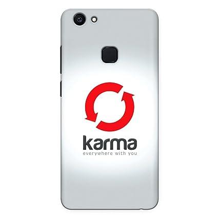 pretty nice 060dc 6080c CrazyInk Premium 3D Back Cover for Vivo V7 Plus - Karma: Buy ...