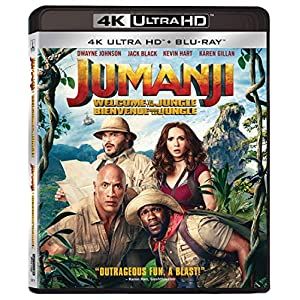 Jumanji: Welcome To The Jungle - 4K UHD [Blu-ray] (Bilingual)