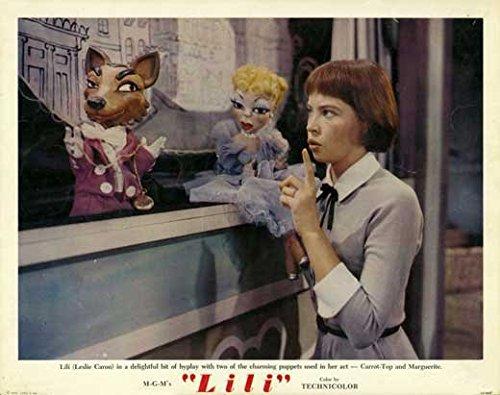 Lili Broadside Movie (1952) Style A 11 x 14 Inches - 28cm x 36cm (Leslie Caron)(Jean-Pierre Aumont)(Mel Ferrer)(Kurt Kasznar)(Zsa Zsa Gabor)