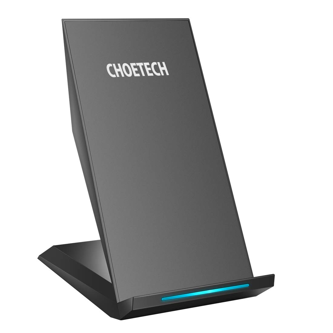 CHOETECH Cargador Inalámbrico Rápido Fast Wireless Charger Qi Cargador Rápido Soporte Compatible con iPhone XS/