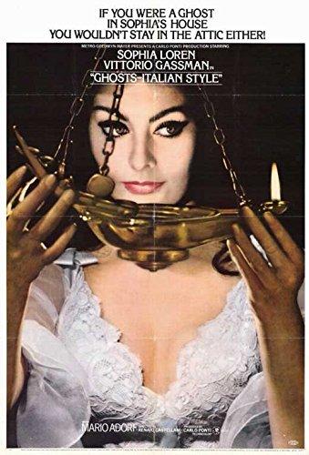 Ghosts - Italian Style Poster Movie 11x17 Sophia Loren Vittorio Gassman Mario Adorf Aldo Giuffr? (Ghosts Italian Style Dvd compare prices)