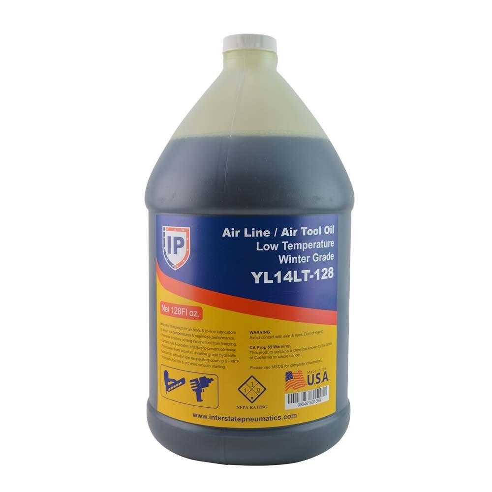 Interstate Pneumatics YL14LT-128 Winter-Grade Low Temperature Air Tool Oil - 128 oz.