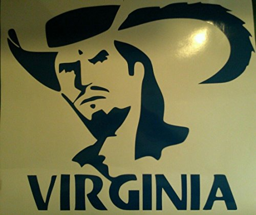 University of Virginia Cornhole Decals - 2 Cornhole Decals