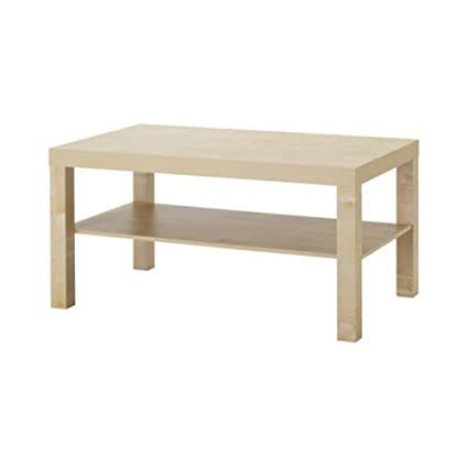Amazoncom Ikea Home Kitchen Dcor Coffee Table Birch Effect