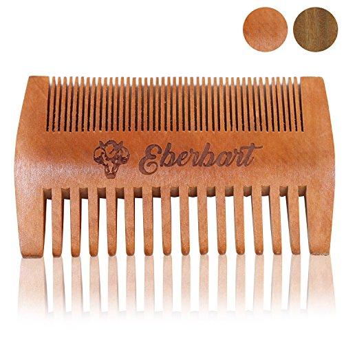 Eberbart Bartkamm - antistatischer Holzkamm für einen natürlich gepflegten Bart (Birnenholz)