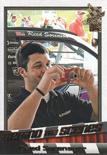 2008 Press Pass VIP NASCAR Racing #84 Reed Sorenson Behind the Scenes