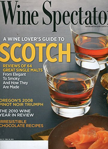 Wine Spectator Magazine - Jan. 31 - Feb. 28, - 31 Feb Glasses
