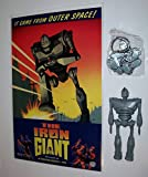 The Iron Giant Jointed (4.25 inches tall) Figure Plus The Iron Giant Metal (pewter 2