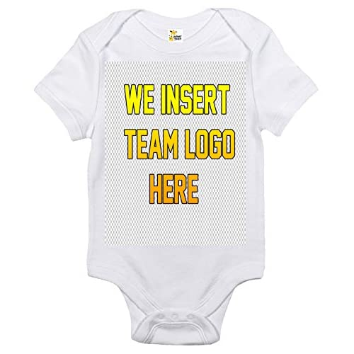 5fc31f34977 Team Jersey Custom Personalized Baby Bodysuit with Your Name and Number and  Logo