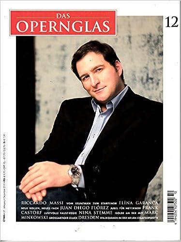 Opernglas 12 2016 Riccardo Massi Zeitschrift Magazin
