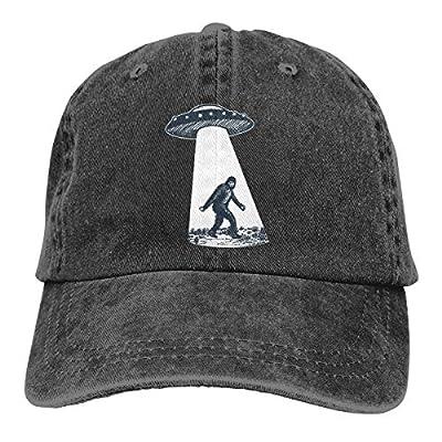 Waldeal UFO Bigfoot Vintage Unisex Adjustable Trucker Cap for Adult