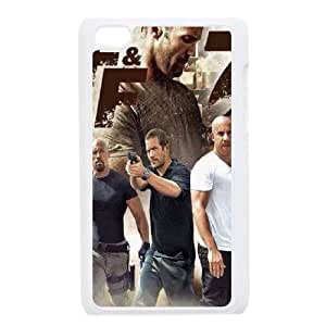 Lycase(TM) Fast and Furious 7 Personalized Phone Case, Fast and Furious 7 Ipod Touch 4 Cover Case