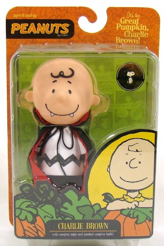 Peanuts Halloween Vampire Charlie Brown Figure ()