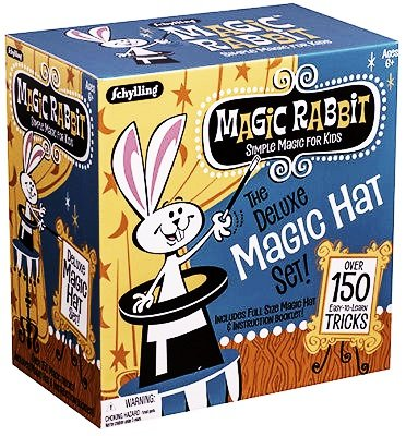 Deluxe MAGIC HAT 150 Trick Set Show Dice Wand Rabbit Card Beginner Kit Kids 6+ by Unbranded
