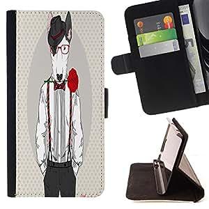 Dragon Case - FOR Apple Iphone 6 PLUS 5.5 - on a strange road - Caja de la carpeta del caso en folio de cuero del tir¨®n de la cubierta protectora Shell