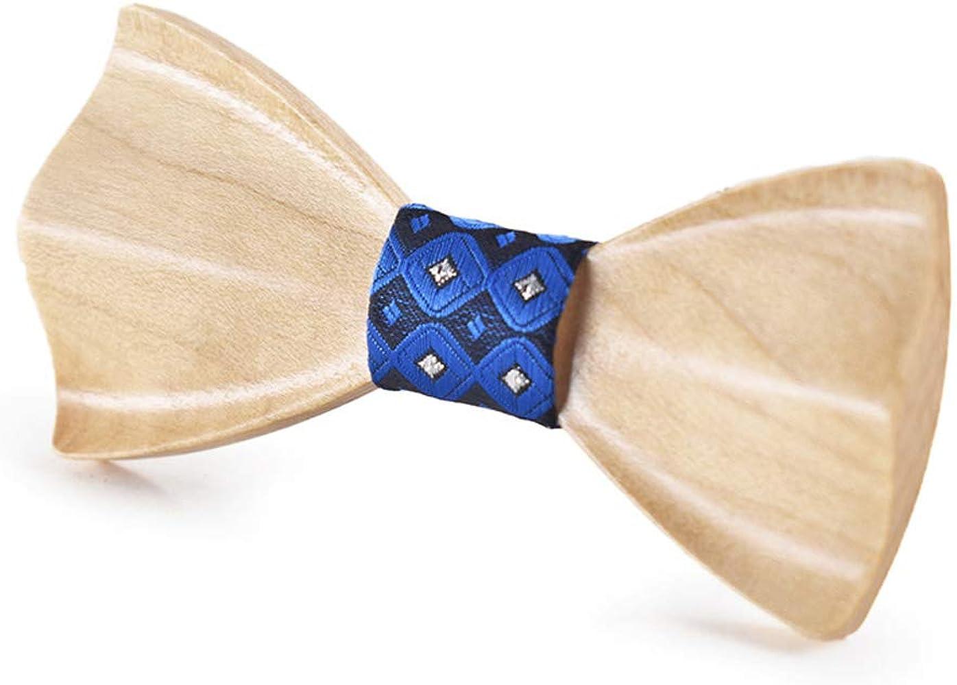 W.Z.H.H.H Pajaritas Wodden Pajarita for hombre mujer corbata de ...
