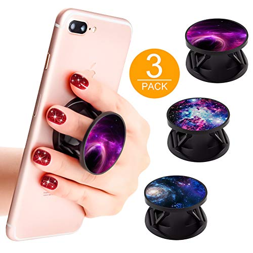 Finger Holder for Smartphone with 3 Packs- Volorex